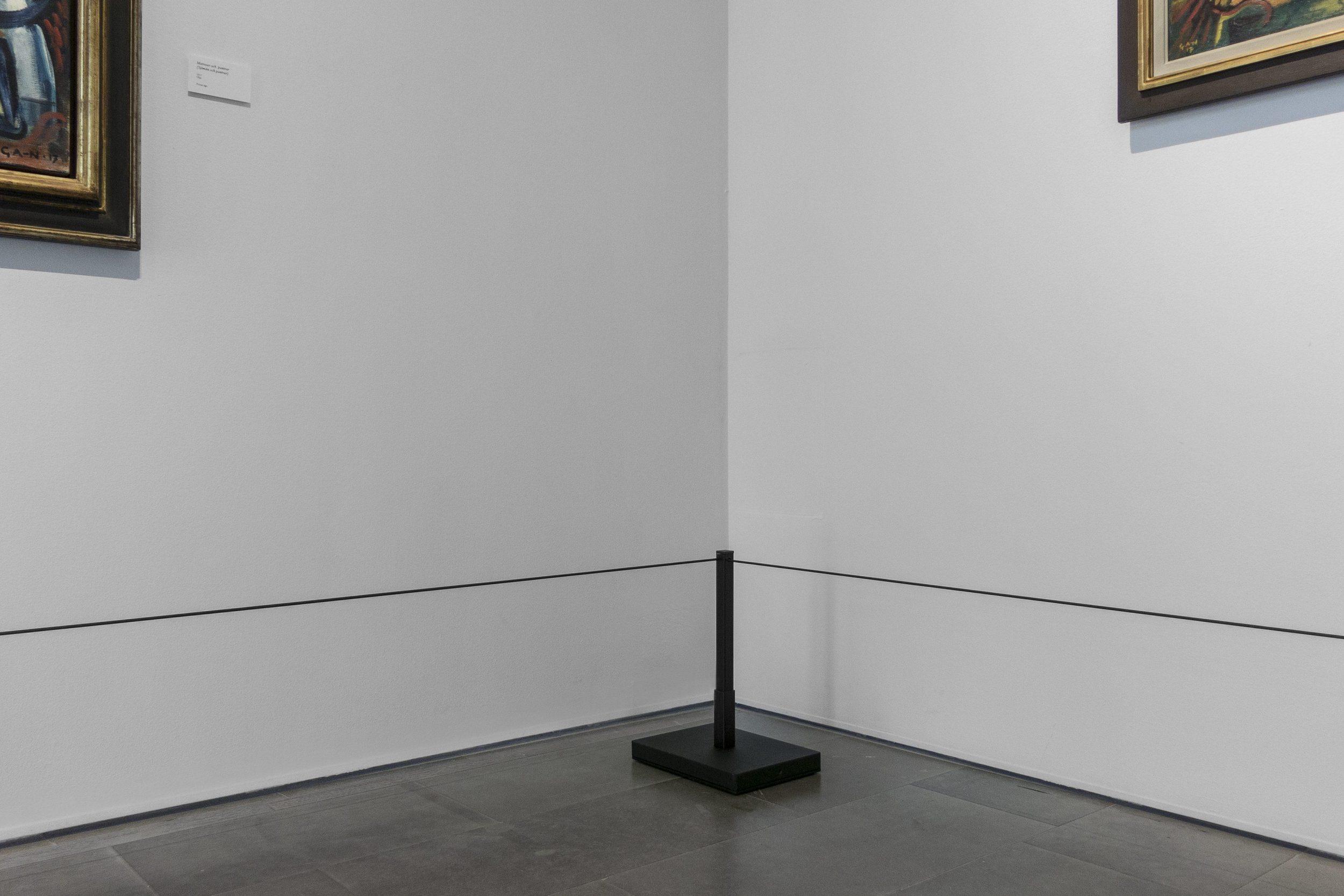 Sven Harrys Konstmuseum, Stockholm 30 maj – 29 sep 2019  –  GAN Sjömanskompositioner – färgens dramatik och stadens dynamik med verk av Gösta Adrian-Nilsson
